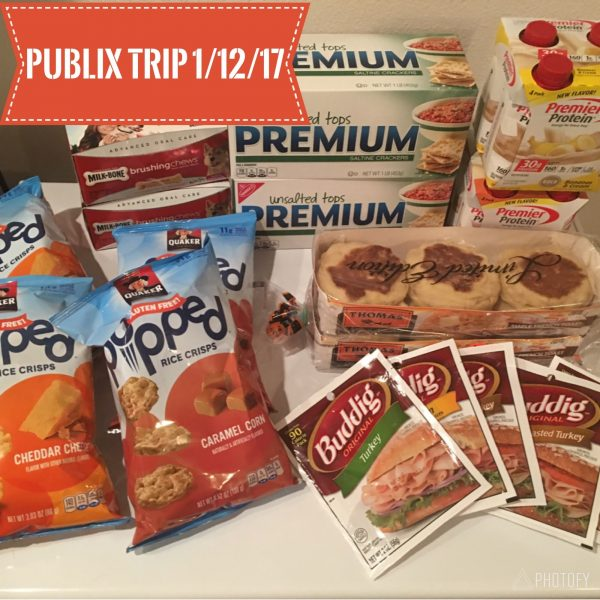 Publix Shopping Trip 1/12/17 – $14.71