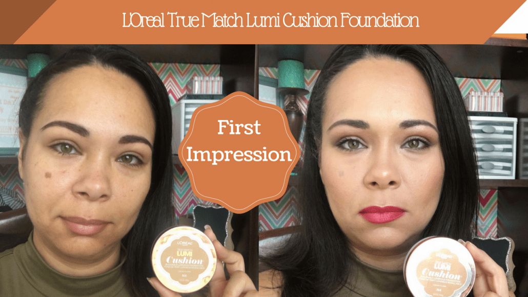 First Impression: L'Oréal lumi cushion Foundation Demo and Review