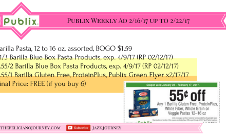 Publix Best Weekly Deal Starting 2/16/17 – 2/22/17