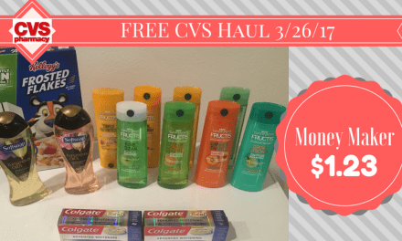 CVS Haul 3/26/17 (ad 3/26/17 – 4/1/17) (video included)