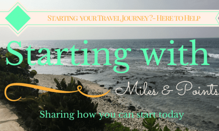 Starting with Miles – Which card should I apply for?