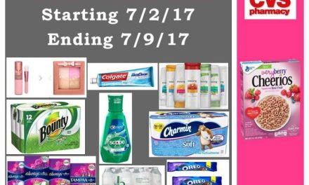CVS Best Deals (starting 7/2/17 – ending 7/8/17)