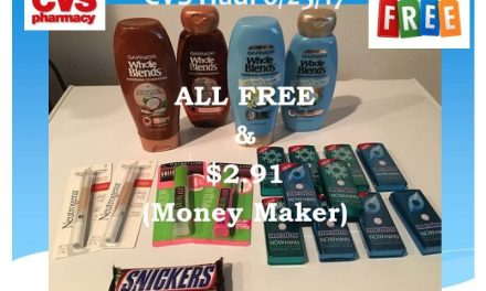 CVS Shopping Trip 6/25/17 – FREE & Money Maker