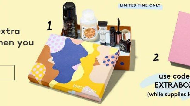 Birchbox Beauty Box June deal (get an extra box)