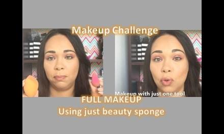 Full Makeup using beauty sponge – Highlight & Contour Drugstore