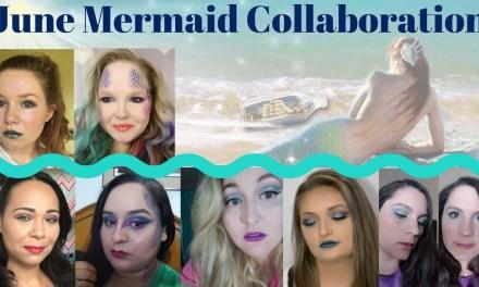 Mermaid makeup tutorial / June collaboration