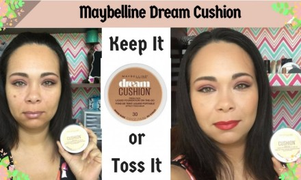 First impression: Maybelline Dream Cushion Liquid Foundation | Jazz Journey