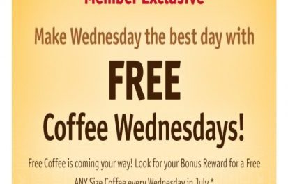 Wawa: FREE Coffee Wednesdays