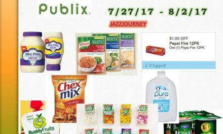 Publix best deals (starting today) 7/27/17