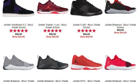 Kids Foot Locker Great deals for back to school 10% off $50 or more (ends today)