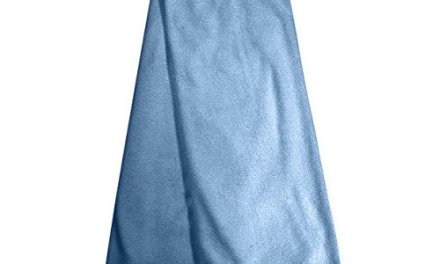 Microfiber Hair Towel By Luxe Beauty Essentials … (20 x 40, Blue)