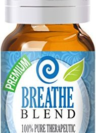 Breathe Blend 100% Pure, Best Therapeutic Grade Essential Oil – 10ml