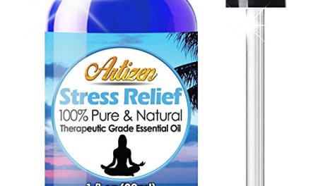 Artizen Stress Relief Blend Essential Oil (100% PURE & NATURAL – UNDILUTED) Therapeutic Grade – Huge 1oz Bottle – Perfect for Aromatherapy, Relaxation, Skin Therapy & More!