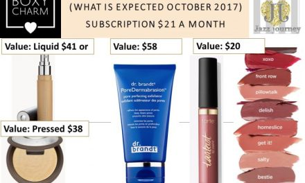 Boxycharm: What can we expect in October 2017 Box