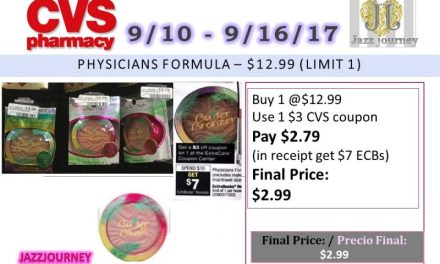 CVS: Physicians Formula (3 Deal Scenario) (as low as FREE) Starting 9/10/17