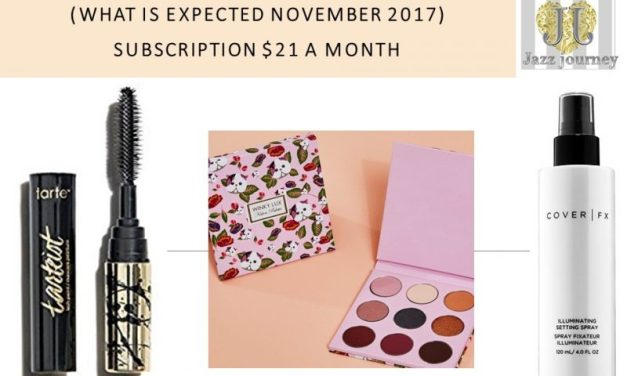 Boxycharm: What can we expect in November 2017 Box
