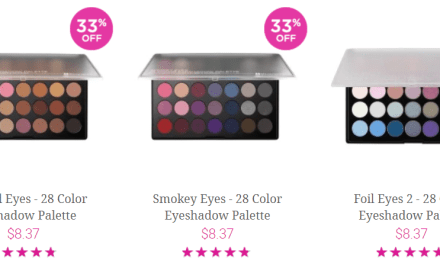 BH Cosmetics: EyeShadow Palettes for $8.37 & can earn a Free Gift