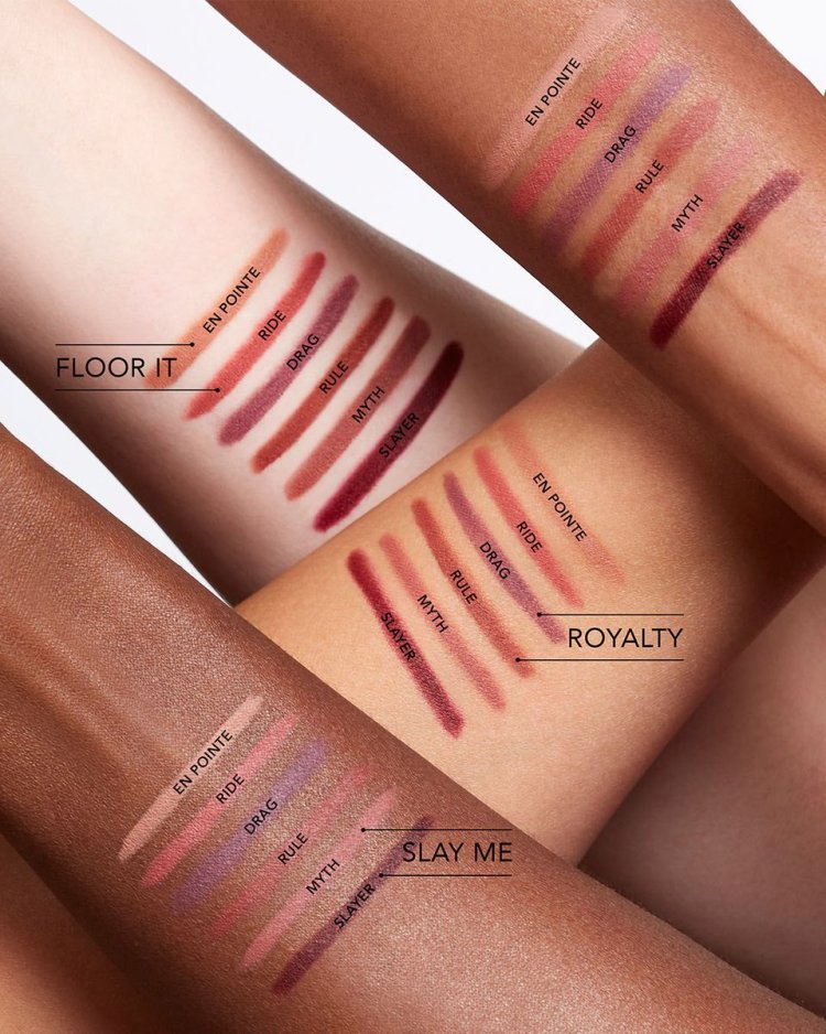 RIP Lip Liner Swatches