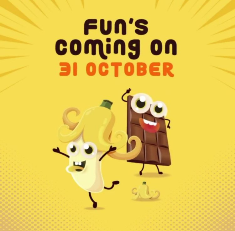 Official teaser poster for McDonald's Singapore's all-new Banana Chocolate Pie