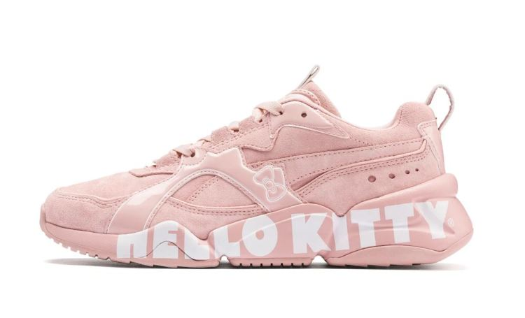 Puma sneaker and hello kitty collection in Pink