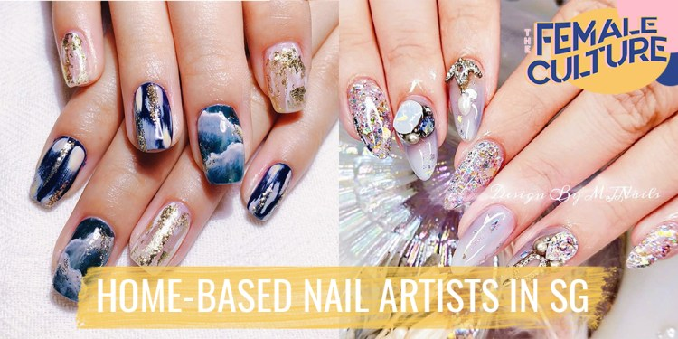 home based nail artists in sg
