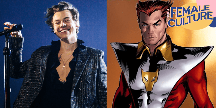 Harry Styles joins the Marvel Universe