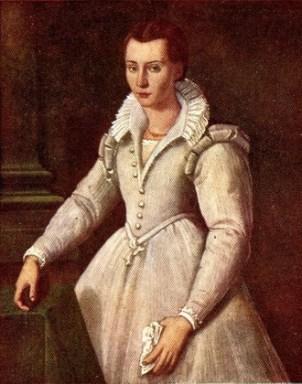 Santi di Tito, Saint Maria Maddalena de' Pazzi at age 16, c. 1583. Unknown.