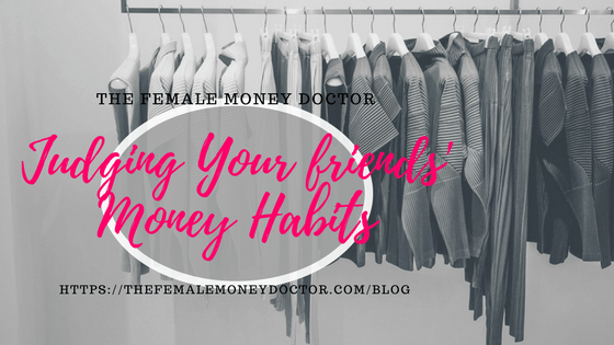 Guest Blog! Judging Your Friends' Money Habits