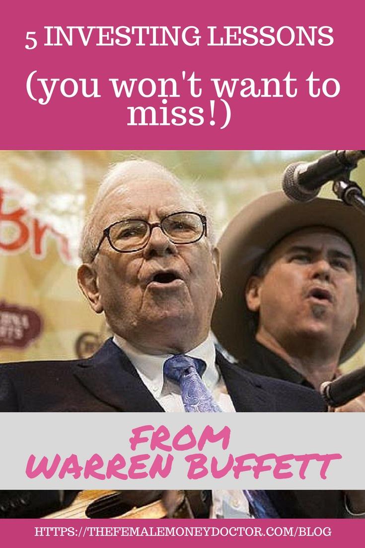 5 Financial Lessons We Can All Learn from Warren Buffett