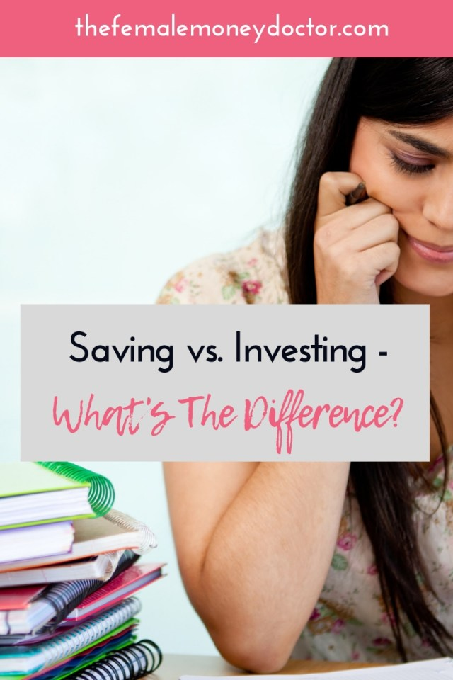 Saving vs Investing Title Picture