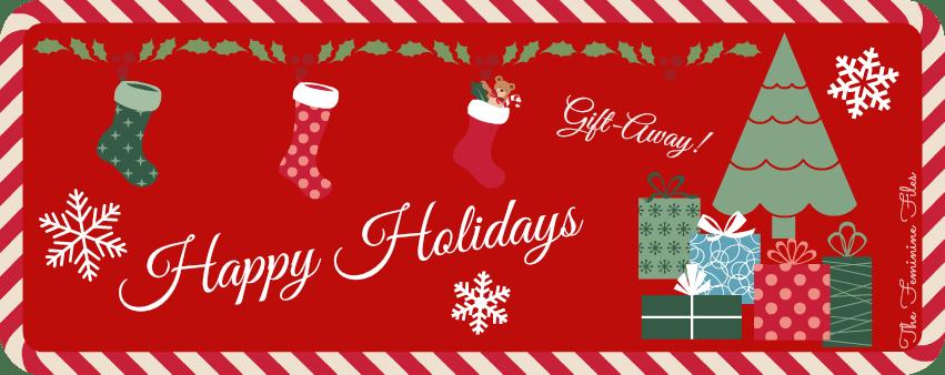 "Big December Happy Holidays ""Gift-away!"""