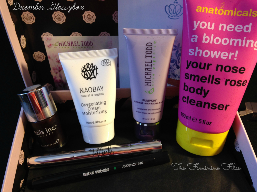 December Glossybox Review