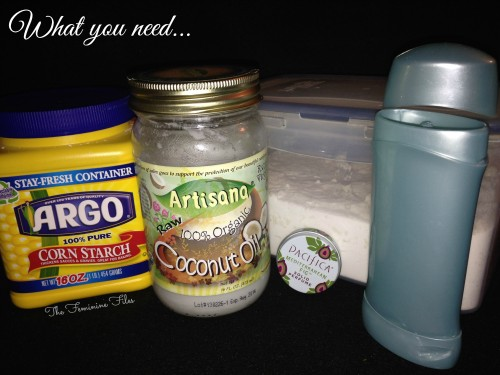 DIY: Make your own Deodorant