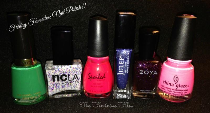 Friday Favorites: Nail Polish! (Jan.10)