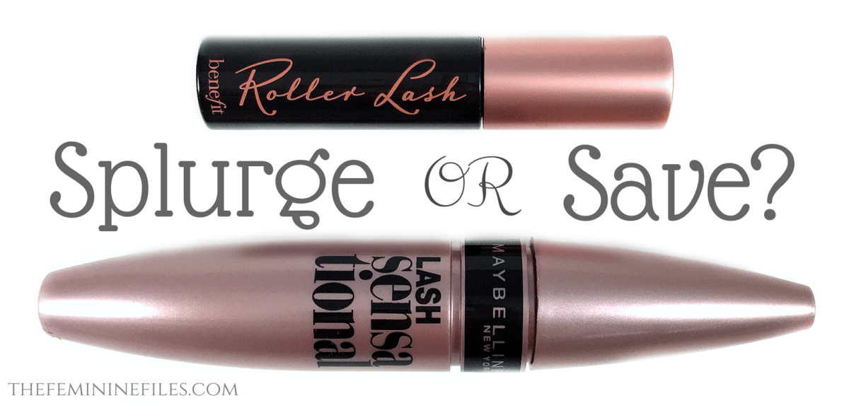 Splurge or Save? Benefit Roller Lash vs Maybelline Lash Sensational