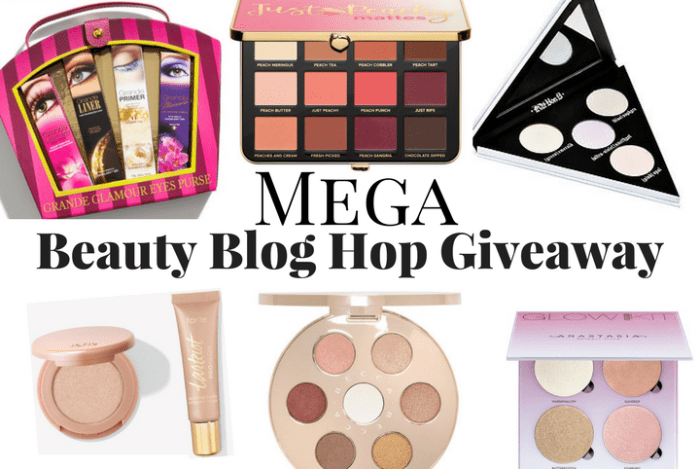 MEGA Beauty Blog Hop Giveaway! (Open Internationally)