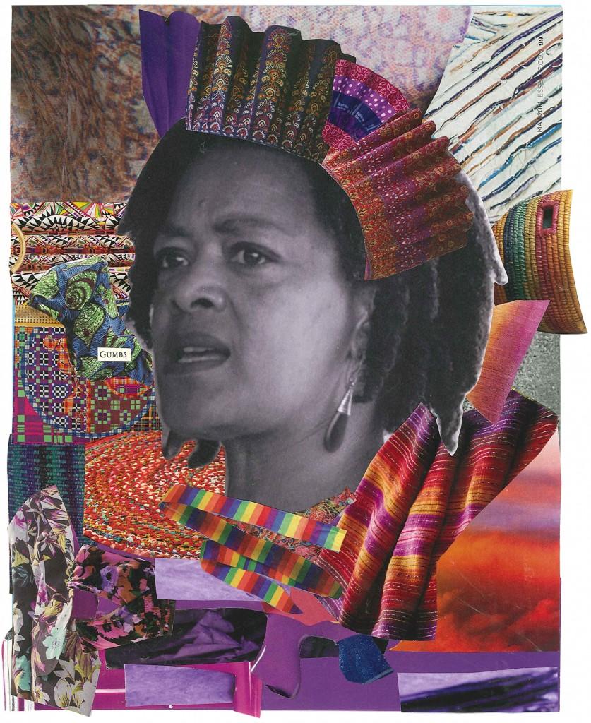 """Exhale"" collage ©Alexis Pauline Gumbs Photograph of Toni Cade Bambara ©Susan Ross"