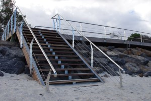stainless steel handrails,