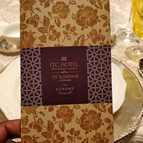 ITC Kohenur, Hyderabad - Stay & Experience