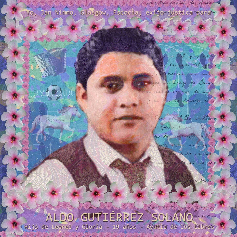 Portrait of Aldo Gutierrez Solano by Jan Nimo