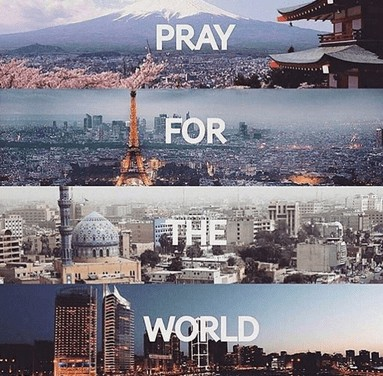 Even in the wake of the Paris Terrorist Attacks, Christians are still being persecuted. #DontPrayforParis