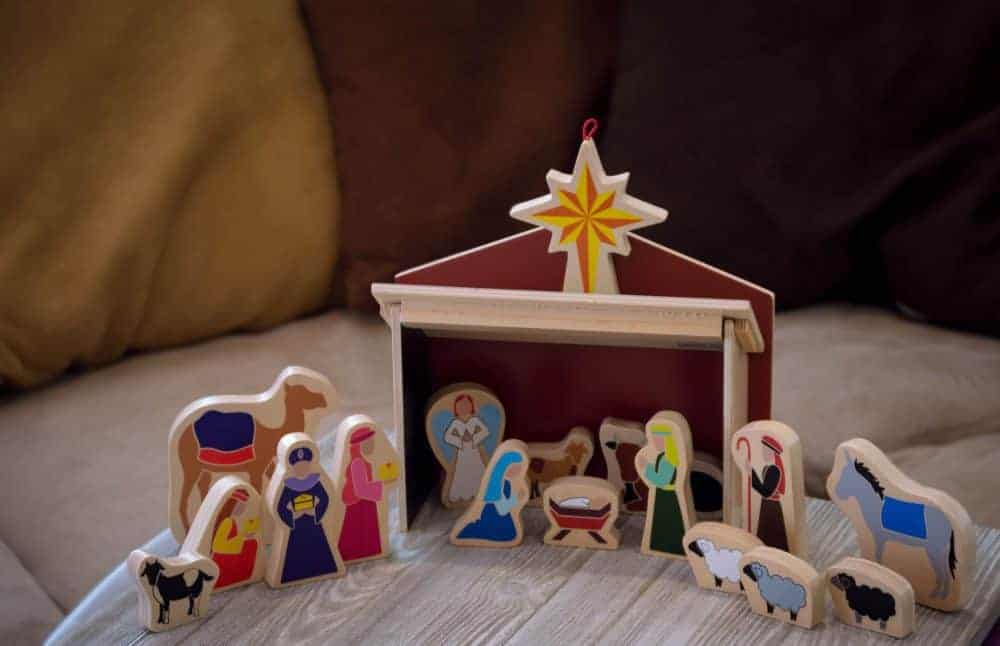20 of the Best Kids Nativity Sets: The Fervent Mama- Out of all 20 kids nativity sets that we've listed, my top two favorites are still the ones we have, Veggie Tales Plastic Set and The Star From Afar. Do you have a kids nativity set?