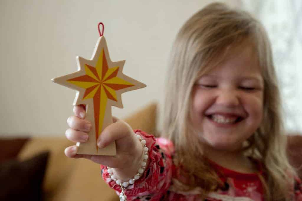 Christian Alternative to Elf on the Shelf, Star From Afar - The Fervent Mama: Which is why I love Star from Afar so much. Games, Christmas, Jesus- and these are a few of my favorite things. So if you're anything like us, then you'll love this Christian alternative to Elf on the Shelf.