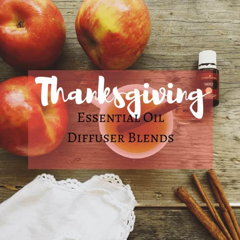 Thanksgiving Diffuser Recipes