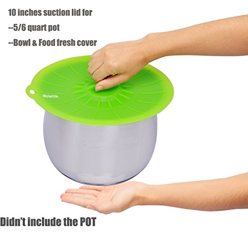 Pressure Cooker Silicone Lid, 10 Inches