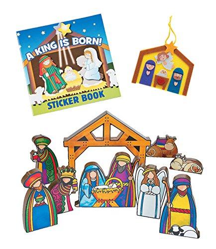 Children's Christmas Nativity Gift Set