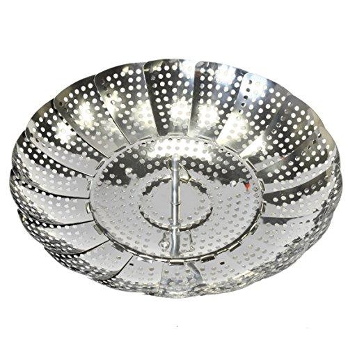 Chef Craft 100% Stainless Steel Steamer Basket