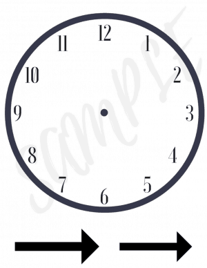 Clock Practice Pages Pack