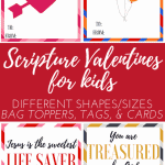 Scripture Valentines for Kids: The Fervent Mama - Last Monday, we kicked off the week by sharing a limited-time kid's freebie with you, Valentine's Day Scripture Copywork for Kids. Today, we're extending our Valentine's Day excitement with these Fun Scripture Valentines Printable for Kids!