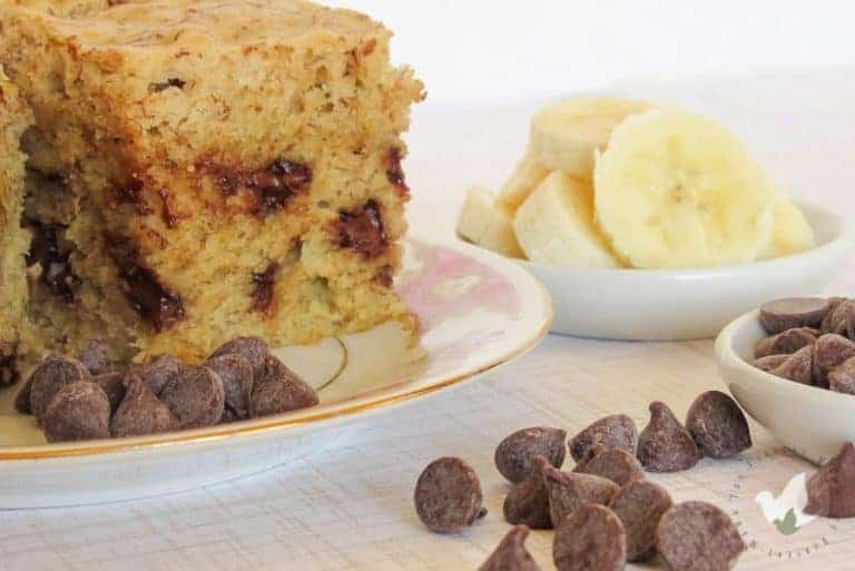 Pressure Cooker Banana Bread (with chocolate chips!)